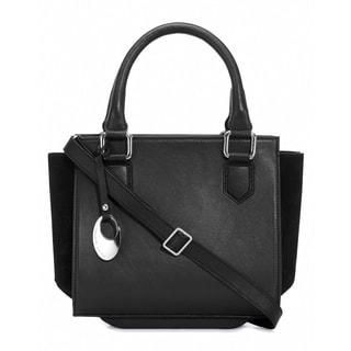 Phive Rivers Women's Leather Handbag (Black, PR1266)