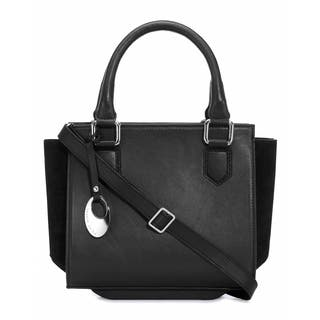 Handmade Phive Rivers Women's Leather Handbag (Black, PR1266) (Italy)|https://ak1.ostkcdn.com/images/products/14458452/P21020380.jpg?impolicy=medium