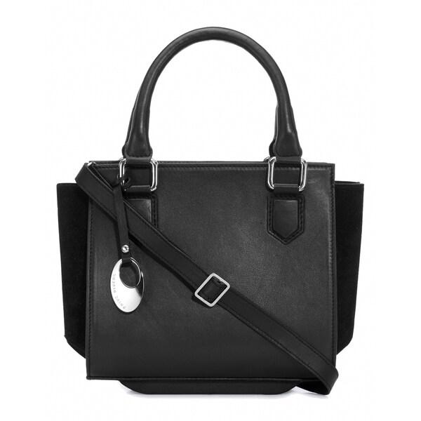 Handmade Phive Rivers Women's Leather Handbag (Black, PR1266) (Italy) - One size