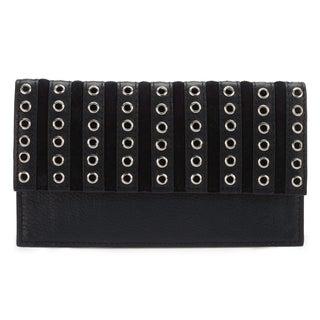 Phive Rivers Women's Leather Wallet (Black, PR1281)
