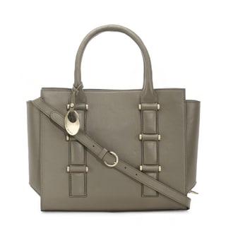 Phive Rivers Women's Leather Handbag (Green , PR1264)