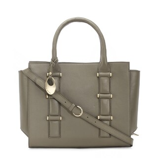 Handmade Phive Rivers Women's Leather Handbag (Green , PR1264) (Italy)