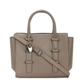Phive Rivers Women's Leather Handbag (Grey, PR1263)|https://ak1.ostkcdn.com/images/products/14458469/P21020384.jpg?impolicy=medium