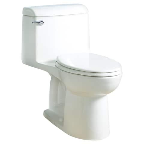 American Standard Champion 4 White China Elongated 1-piece Toilet