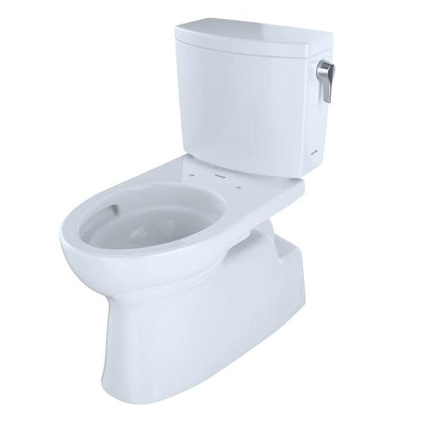 Shop Toto Vespin II White Elongated 2-piece Toilet - Ships To Canada ...