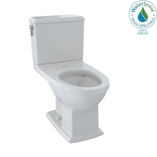 Toto Connelly White China Elongated 2-piece Toilet