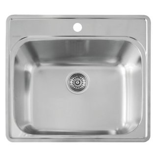 Blanco Essential Brushed Satin Single Bowl Laundry Sink