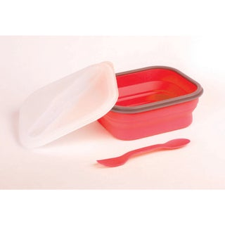 Eco Plastic Collapsible Single Section Lunch Kit