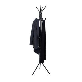 Mind Reader 'Hang' 11-Hook Black Metal Coat Rack