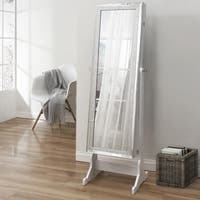 Prestige Cheval Mirror Jewelry Armoire