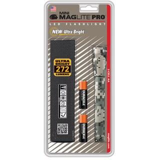 Maglite Mini Mag LED Pro + Universal Camo