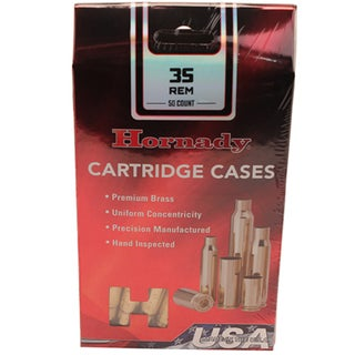 Hornady Unprimed Brass 35 Remington, Per 50