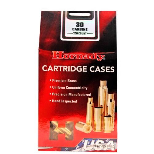 Hornady Unprimed Brass 30 Carbine, Per 200