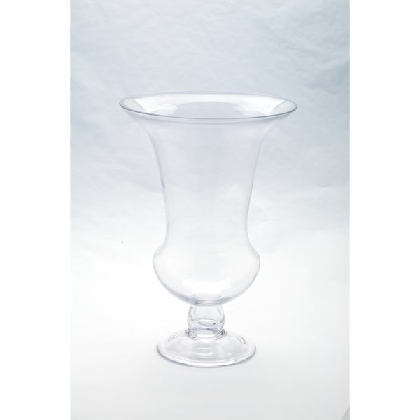 Clear Glass Italian Hurricane Vase Free Shipping On Orders Over