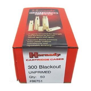 Hornady Unprimed Brass 300 AAC Black Out (Per 50)