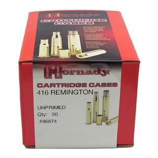 Hornady Unprimed Brass 416 Remington/50
