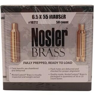 Nosler Custom Reloading Brass 6.5x55mm Swedish Mauser, Per 50