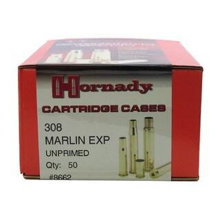 Hornady Unprimed Brass 308 Marlin Express (Per 50)