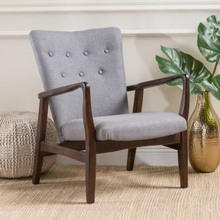 Becker Fabric Arm Chair by Christopher Knight Home