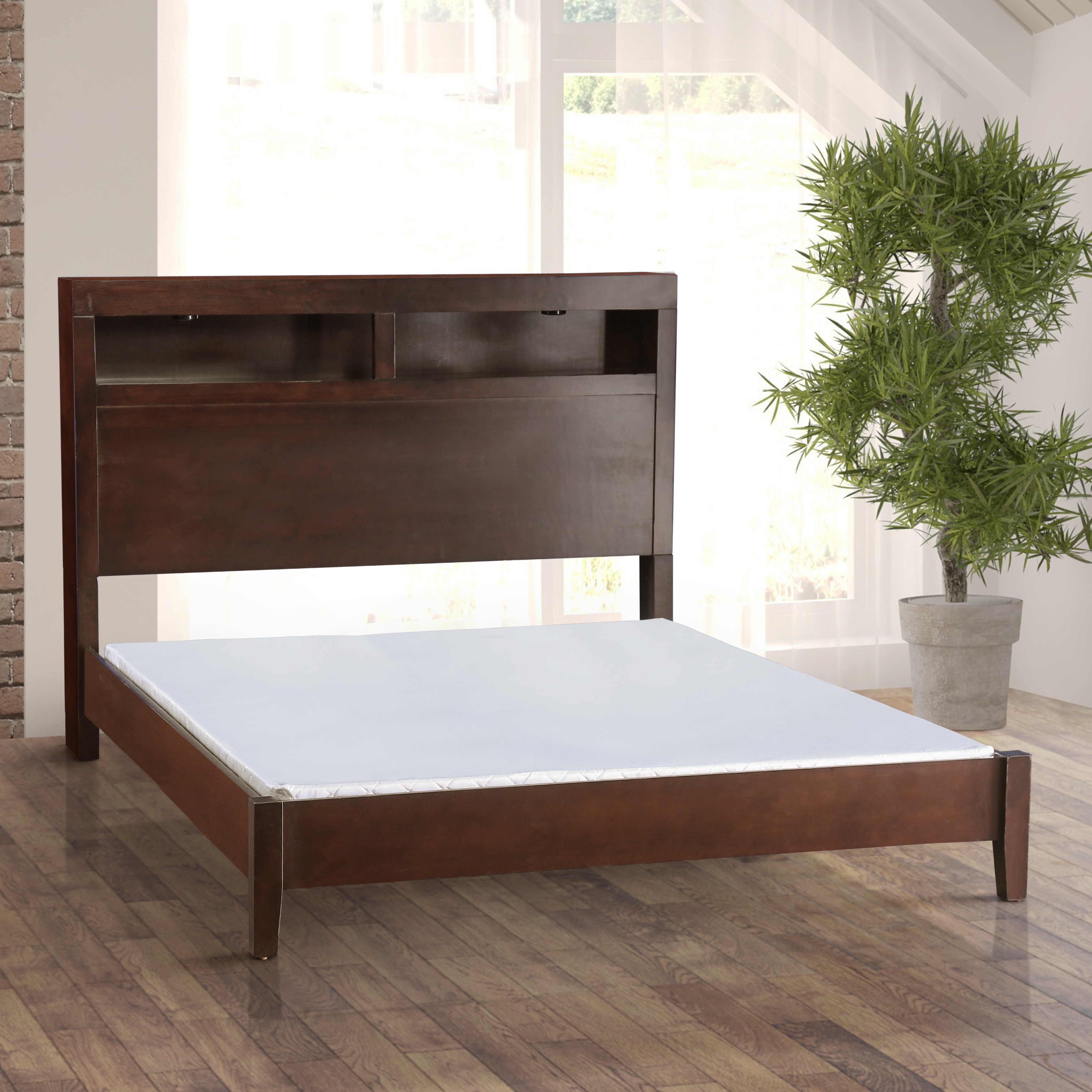 Furniture of America miBasics 2-inch Cal King-size Bunkie...