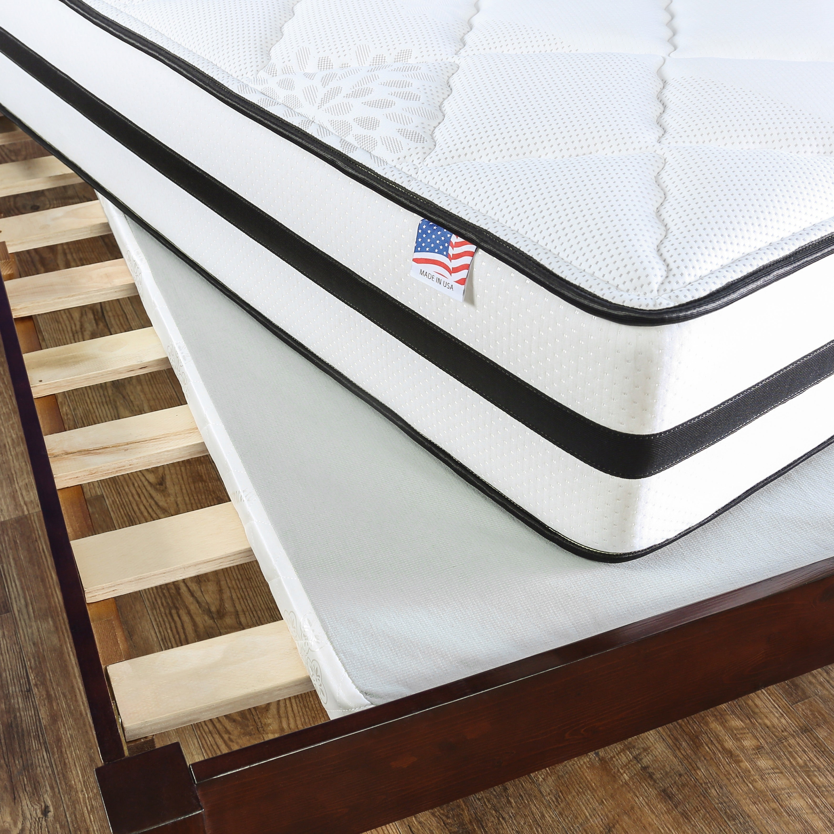 Furniture Of America Mosh Foundation Brown King Bunkie Board On Sale Overstock 14459136