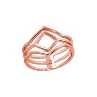 Two Tone Fashion Rings