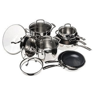 13-piece Stainless Steel Cookware Set