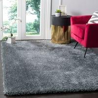 Safavieh Toronto Handmade Dark Grey Shag Rug - 5' x 7'