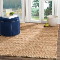 Safavieh Natural Fiber Contemporary Handmade Bleach Jute Rug (8' x 10')