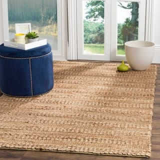 Safavieh Natural Fiber Contemporary Handmade Bleach Jute Rug 8 X 10