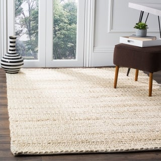Safavieh Natural Fiber Contemporary Handmade Bleach Jute Rug (9' x 12')
