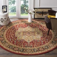 Safavieh Mahal Natural / Navy Area Rug - 5'1 round