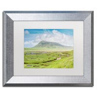 Michael Blanchette Photography 'The Harris Saltings' Matted Framed Art