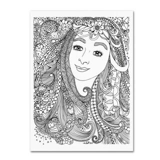 KCDoodleArt 'Flower Girls 4' Canvas Art