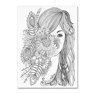 KCDoodleArt 'Flower Girls 2' Canvas Art