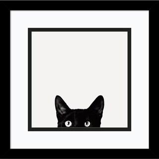 Framed Art Print 'Curiosity' by Jon Bertelli 13 x 13-inch