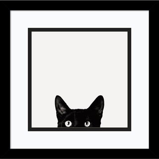 Framed Art Print 'Curiosity' by Jon Bertelli 13 x 13-inch