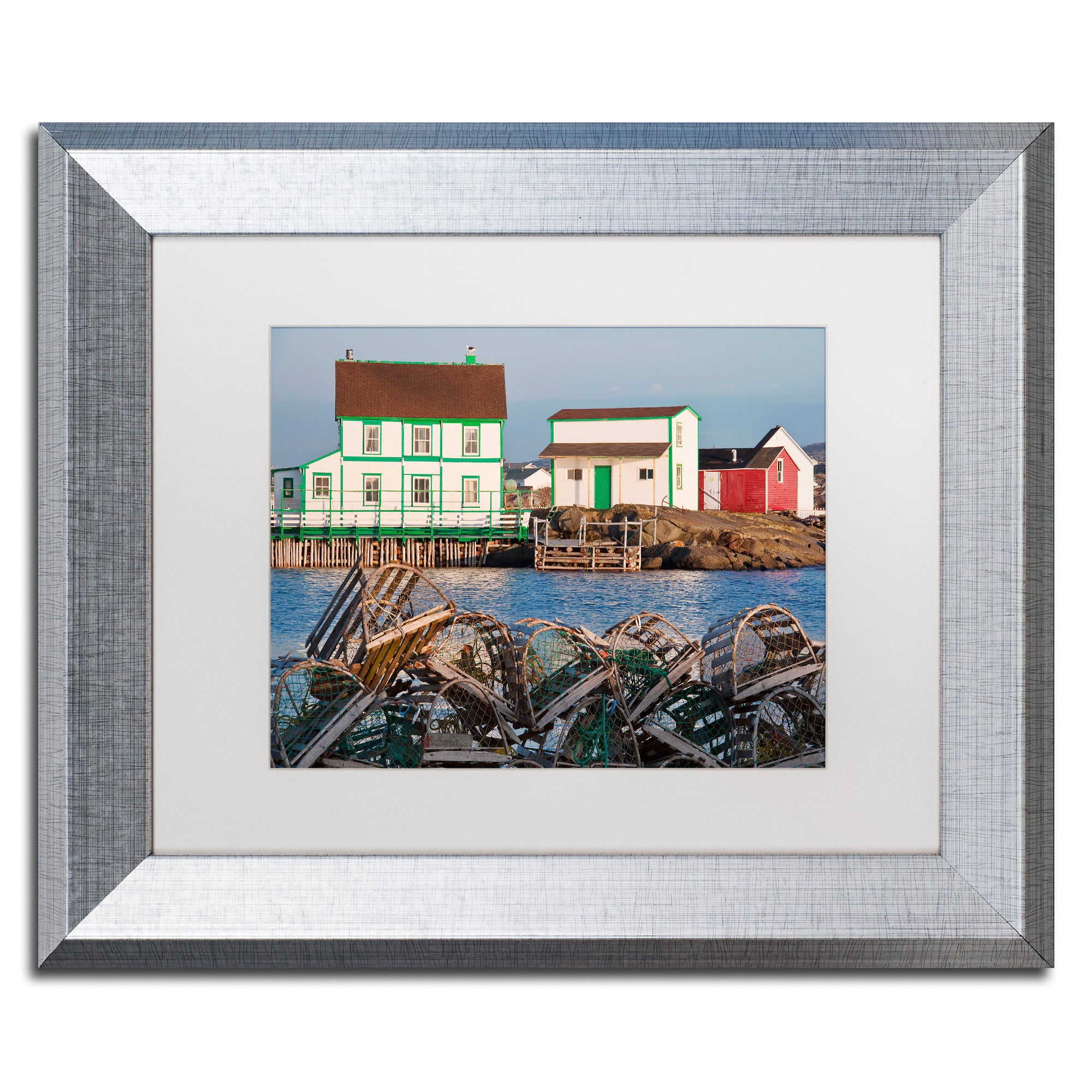 Trademark Michael Blanchette Photography 'Lobster Traps' ...