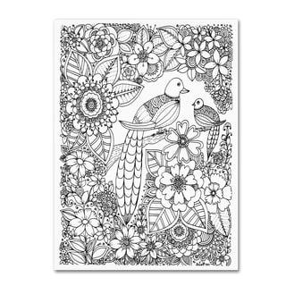 KCDoodleArt 'Birds' Canvas Art