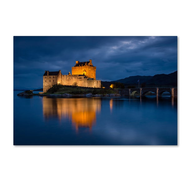Michael Blanchette Photography 'Eilean Donan Castle' Canvas Art
