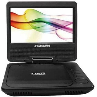 "Sylvania Portable DVD Player with 7"" Screen"
