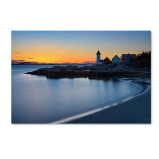 Michael Blanchette Photography 'Light On The Point' Canvas Art
