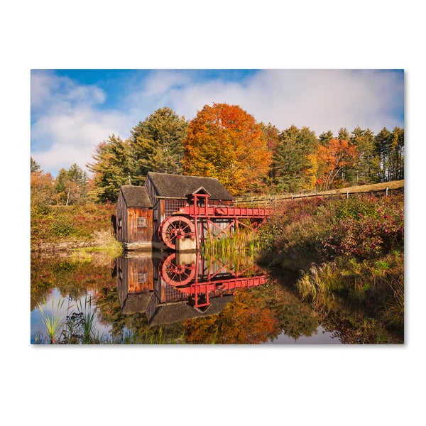 Michael Blanchette Photography 'Nostalgic Mirror' Canvas Art