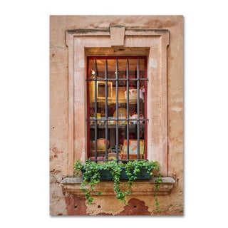 Michael Blanchette Photography 'Window Shopping' Canvas Art