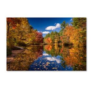 Michael Blanchette Photography 'River Mirage' Canvas Art