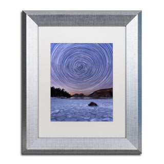 Michael Blanchette Photography 'Circles & Bubbles' Matted Framed Art
