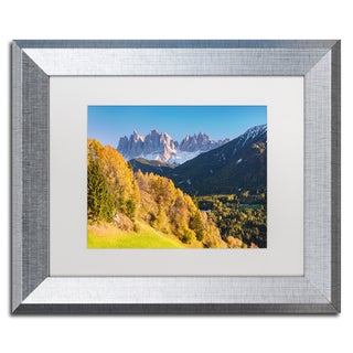 Michael Blanchette Photography 'Autumn Grandeur' Matted Framed Art