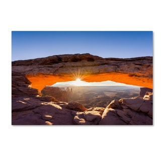 Michael Blanchette Photography 'Lighted Frame' Canvas Art