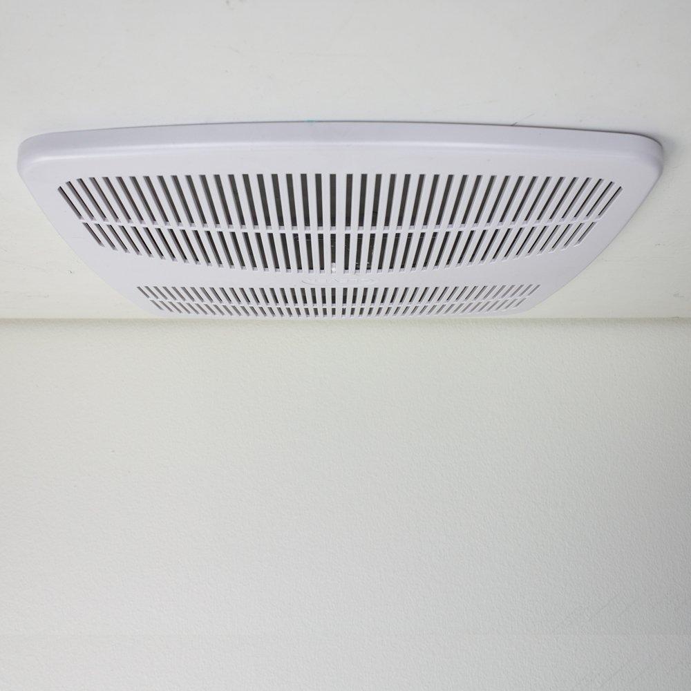 140 Cfm Bathroom Exhaust Fan With Light | Bathroom Lighting