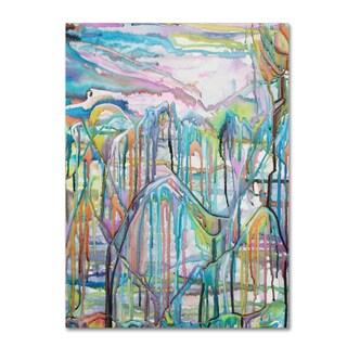 Lauren Moss 'High on the Mountain Tops' Canvas Art